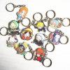 Пользовательские формы мультфильмов акрилового пластика цепочке для ключей