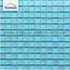 300X300 Tamaño de la hoja de Onda Azul mosaico Mosaico de vidrio para la Piscina mosaicos