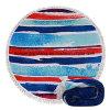 OEMはデザインプリント綿のMicrofiberの浴室浜毛布円形タオルのヨガの水泳タオルの製造業者をカスタマイズした
