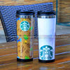 Starbucks acero inoxidable taza del regalo