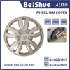 Universal 13 14 del borde de la piel cubierta del estilo de la cubierta de rueda ABS