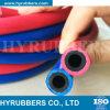 Tubo flessibile gemellare di gomma della saldatura, acetilene/tubo flessibile dell'ossigeno
