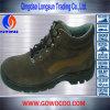 Pattini di sicurezza di gomma del cuoio comodo della pelle scamosciata soli (GWRU-1021)