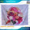 Flores personalizada bandera en la impresión digital (NF03F03024)
