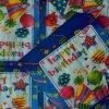 Servilletas de papel del cumpleaños de la servilleta del partido