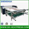 Máquina automática da transferência térmica do rolo do aquecimento de óleo