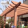 Pergola imperméable à l'eau de la taille personnalisé par modèles neufs WPC pour la terrasse de jardin