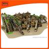 실내 옥외 연약한 운동장 코끼리 정글 체조 관 활주 장비