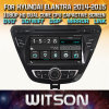 Witson Windows Hyundai 새로운 Elantra Avante 2014 2015년에서 라디오 입체 음향 DVD 플레이어