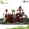 Los niños al aire libre de plástico de equipos de juego