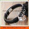 Armband van het Anker van de Boot van de Kabel van het Leer van mensen de Europese en Amerikaanse (BL2856)