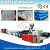 Belüftung-Rohr, das Machines/PVC Rohr-Strangpresßling maschinell bearbeiten lässt/Plastikextruder-Maschine