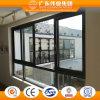 Zwei Schienen-schiebendes Fenster-doppeltes ausgeglichenes Glas