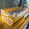De Anti UV Vierkante Profielen van de Montage van het Traliewerk van de Buis FRP