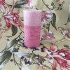 Schicht-rosafarbene Pfosten-Kerze für Weihnachtsgeschenk