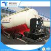 강철 유조선 시멘트 대량 운반대 트레일러 또는 반 분말 물자 탱크 트레일러