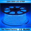 Striscia flessibile impermeabile 220V di alta qualità SMD 5050 LED