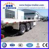 3 Eixo 40t/50t plana do contentor/Flat-Bed Carreta