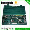 Acier inoxydable trousse d'outils de clé à douille de matériau 1/2 ''