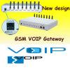 Passagem da G/M VoIP de 8 canaletas (GoIP-8)