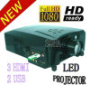 LED907M Inpus voegt 3HDMI, 2 Lezers USB toe. 2200 Lumens Do Drop Shipping