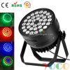 36X10W RGBW 4в1 раунда круговой индикатор управления PAR лампа