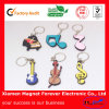 Custom Design Rubber Key Chain Chaveiro