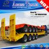 ثقيلة - واجب رسم ناقل محمّل 4 محور العجلة منخفضة سرير شاحنة مقطورة