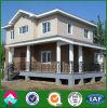 Het PrefabHuis van de Luxe van lage Kosten, de PrefabBouw van de Structuur van het Staal/Huis/Villa