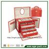 2016 Novos produtos Leather Jewelry Cosmetic Box