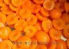 Aprikosen-Hälften