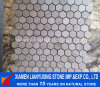 Travertino Mosaic Pattern per Floor Decoration