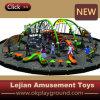 Nouvelle conception de l'Équipement pour body building de plein air pour enfants avec toboggan (PY1201-9)