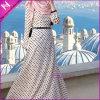 Gestippelde Kleding van de Stijl van Hijab de vrij in Kleur Poudre