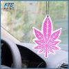Настраиваемые формы висящих бумаги автомобильный освежитель воздуха с освежителем воздуха