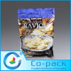 Zipper (LB-10)のクリームAluminum Foil Packaging Food Plastic Bag