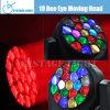 19X15W RGBW LED Mini Moving Head Wash