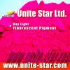 La lumière du jour de pêche de pigment fluorescent rouge pour l'impression textile couleur coller