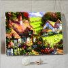 Het Olieverfschilderij van het landschap door Aantallen op Canvas voor de Decoratie van het Huis