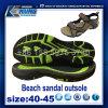 Venta caliente del último de la manera 2017 de la playa de la sandalia diseño de Outsole