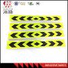 etiquetas brancas vermelhas de advertência da fita da tira reflexiva da noite da segurança do caminhão 10PCS