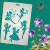 Las galerías de PP plástico Conjunto de plantillas de dibujo para niños