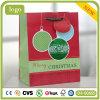 Bolsa de papel, bolsa de papel circular del modelo de la Navidad, bolsa de papel del regalo