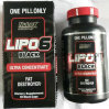 Здоровое дополнение Lipo-6 Rx отсчета исследования 60 Nutrex