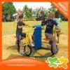 Matériel interactif extérieur bleu de forme physique de cinq enfants à vendre