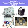 Subsonic Oxígeno Acetylene Flame Acero Cobre Zinc Aluminio Molibdeno Metal / Aleación Wire Spray Machine Sistema de recubrimiento térmico del dispositivo