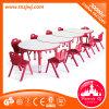 판매를 위한 테이블 가구 플라스틱 테이블이 결합한 원형 테이블에 의하여 농담을 한다