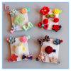 Accessori Handmade dei Barrettes delle ragazze dei capretti delle clip di capelli del nodo dell'arco dei fiori