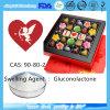 Gluconolactone van Gdl voor Het Zwelmiddel CAS van het Additief voor levensmiddelen: 90-80-2