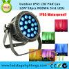 Indicatore luminoso professionale 18PCS*12W 5in1 LED di RGBWA LED per esterno Using IP65
